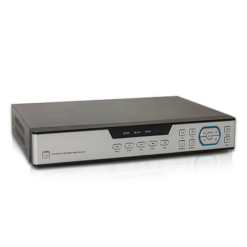 Enregistreur réseau AHD et IP 1080P
