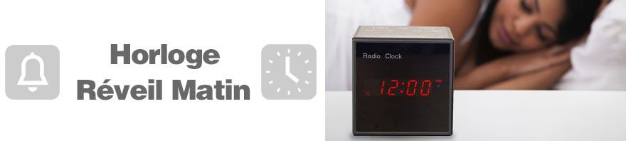 horloge alarme
